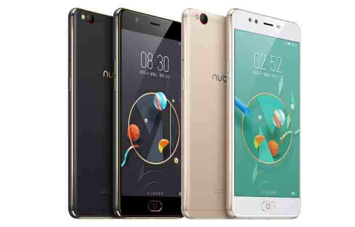 Nubia M2 comes with a dual camera setup with two 13-megapixel Sony CMOS sensors, with one capturing colour information and the other capturing monochrome, both with sapphire glass protection and an f/2.2 aperture (Photo/Nubia)
