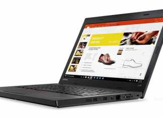 Lenovo Thinkpad L470 is a light and speedy machine with great performance. It has a nice keyboard that provides an enjoyable typing. (Photo/Lenovo)