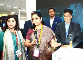 Sterlite Tech, 5G cable, Indian Mobile Congress, IMC 2017, Aruna Sundararajan, Anand Agarwal