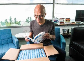 Microsoft CEO Satya Nadella, , Hit Refresh, Satya Nadella Book Hit Refresh, Satya Nadella News, Satya Nadella Book, Microsoft Journey, Satya Nadella Journey, Microsoft News, Steve Jobs