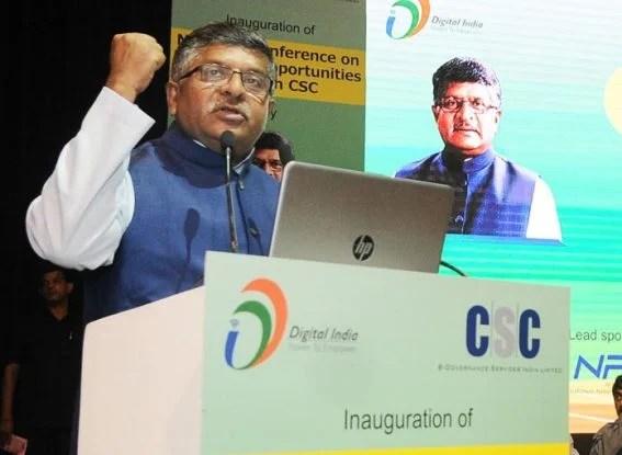 cybersecurity, cyber security, cybersecurity in India, digital india, narendra modi, ravi shankar prasad, research and development on cybersecurity, wannacry, cyberattack