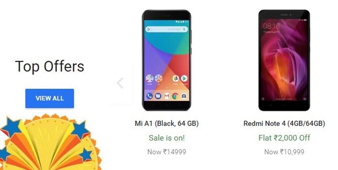 Diwali Sale 2017, Festival Sale, Flipkart, Amazon, Xiomi, Smartphone Discount, Flipkart Discount, Amazon Discount, Amazon Great India Sale, Flipkart Big Billion Sale