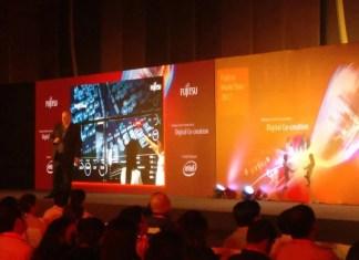 Fujitsu World Tour, Fujitsu, Artificial Intelligence, Cloud computing, the Internet of Things, Cybersecurity, Digital Co-creation