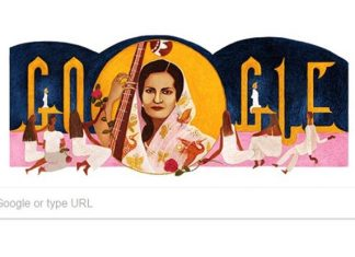 Begum Akhtar, Queen of Ghazals, Queen of Ghazals, Begum Akhtar, Google Doodle celebrates Begum Akhtar, Google Doodle, Google Doodle celebrates, Akhtari Bai Faizabadi, Google Begum Akhtar, Beghum Akhtar, Google Doodle and Begum Akhtar