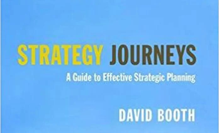 Strategy Journeys by David Booth, David Booth, Management Book of the Year, David Booth shortlisted for Management Book of the Year, Business Book, Award, Routledge