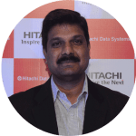 Srinivas Rao, Sales Director, Government Sector, Hitachi Vantara