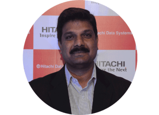 Srinivas Rao, Sales Director, Government Sector, Hitachi Vantara