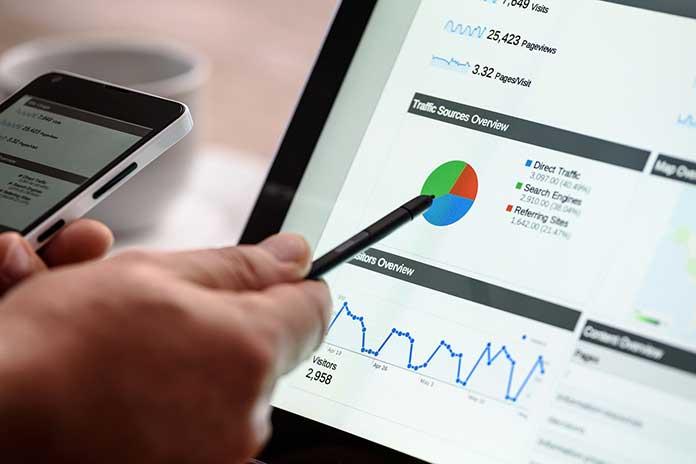 Google, Facebook, Alibaba, Baidu, Tencent , online advertising market, online ad revenue