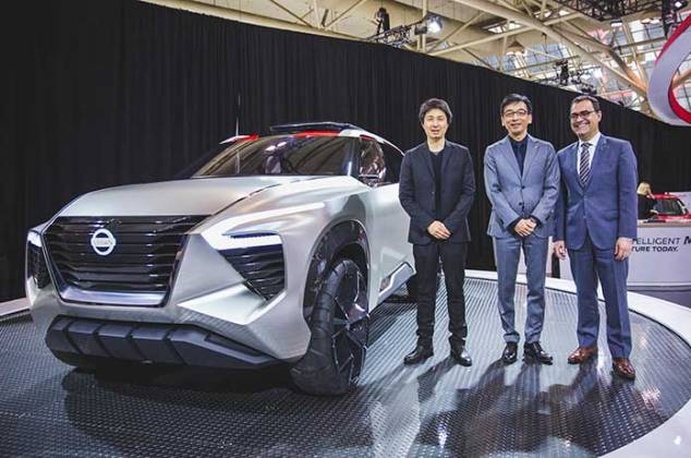 Nissan Xmotion Concept, Nissan, 2018 Canadian International Auto Show