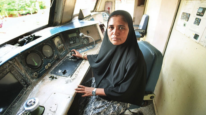 Mumtaz Kazi: Asia's first woman who drives a diesel train