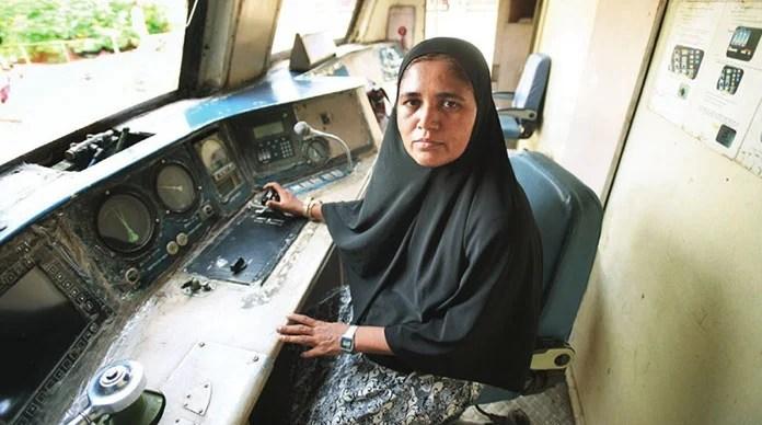 Mumtaz Kazi: Asia's first woman who drives a diesel train