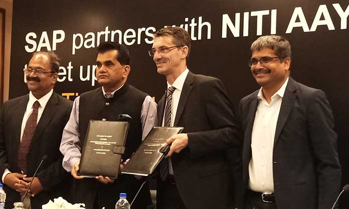 As part of the SOI, SAP in 2018 will adopt 100 Atal Tinkering Laboratories (ATL) to promote science, technology, engineering and mathematics (STEM) education among secondary school children across India, specifically the states of Delhi, Rajasthan, Gujarat, Maharashtra, Karnataka, Andhra Pradesh and Telangana.