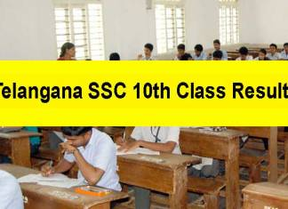 Telangana SSC 10th Class results