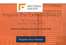 SAS Forum 2018 to focus on AI, Machine Learning, IoT, Fraud Management and CX