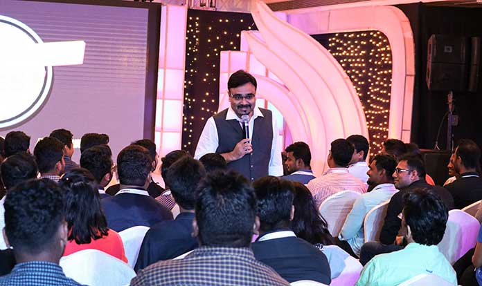Zillonlife Founder and Chairman Rishiraj Mishra during Z-Fest.