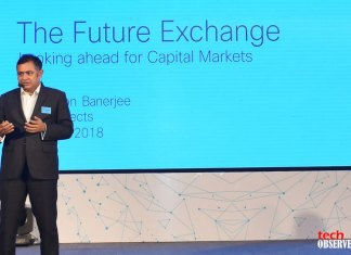Sankarson Banerjee, CTO, National Stock Exchange. (Photo: Tech Observer)