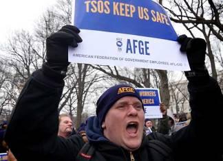 Shutdown is 'Unacceptable' says federal employee union