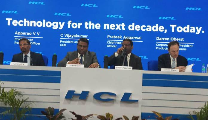 As part of the agreement, a group of Xerox employees will transfer to HCL