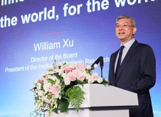 William Xu, Huawei Director of the Board, President of the Institute of Strategic Research. (Photo: Huawei)