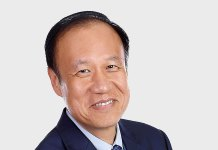 Ken Xie, Founder, chairman of the board, and CEO, Fortinet.