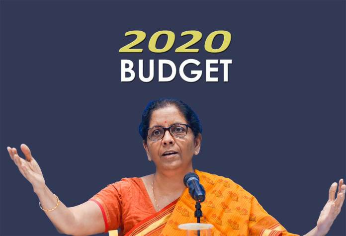 Budget 2020 Represenative Image of Union Minister Nirmala Sitharaman