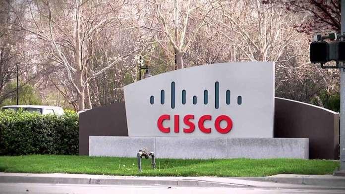 Cisco building, Cisco logo