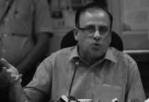 Maharashtra Chief Secretary Ajoy Mehta.