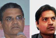 Vijay Devnath, CISO and GM (IT), Centre for Railway Information Systems (CRIS) and Santosh Kumar Mishra, System Engineer, VMware India (Photo: Tech Observer)