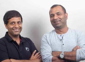 Betterplace co founders Saurabh Tandon and Pravin Agarwala