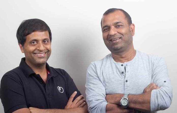 Betterplace co founders Saurabh Tandon and Pravin Agarwala