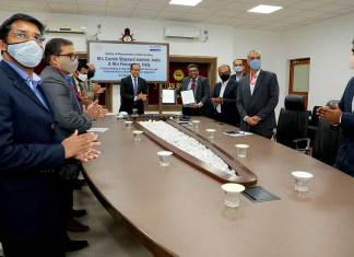 Cochin Shipyard Limited said that it has signed MoU with Fincantieri for co-operation in the areas of design, shipbuilding, ship repair, marine equipment manufacturing, besides training & skill development.