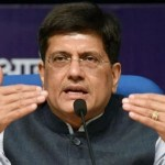 Railways minister Piyush Goyal