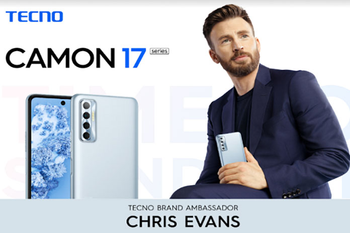 Chinese smartphone brand Tecno has roped in Hollywood superstar Chris Evans as their global brand ambassador.