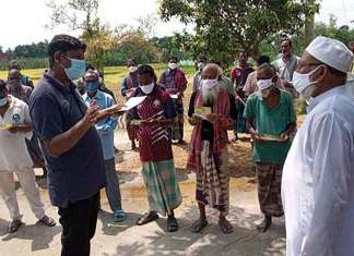 Sadar Upazila administration has taken initiative to provide hands-on training on the use of apps among the grassroots farmers
