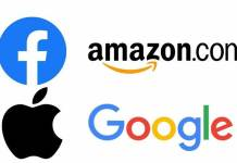 Google, Facebook, Apple and Amazon