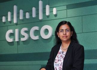 Daisy Chittilapilly, President of India & SAARC region, Cisco (Photo: File)