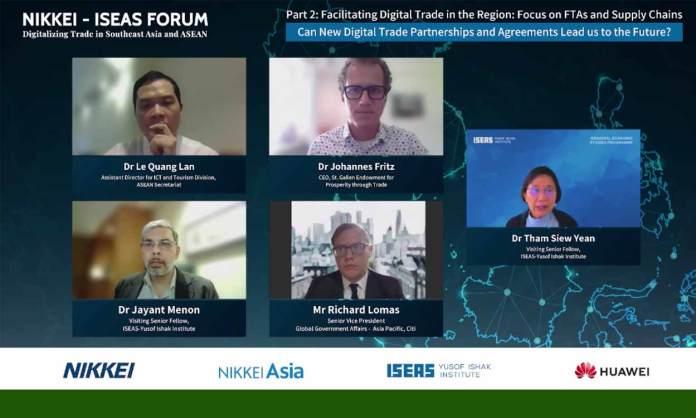 ASEAN digitizing trade & Economy