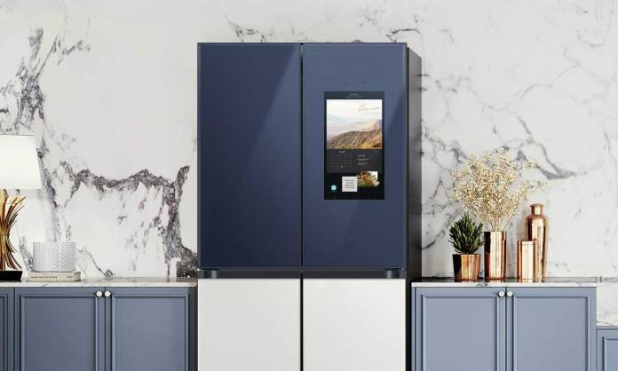 Samsung's BESPOKE French Door refrigerator