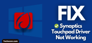 fix synaptics touchpad driver not working windows 10