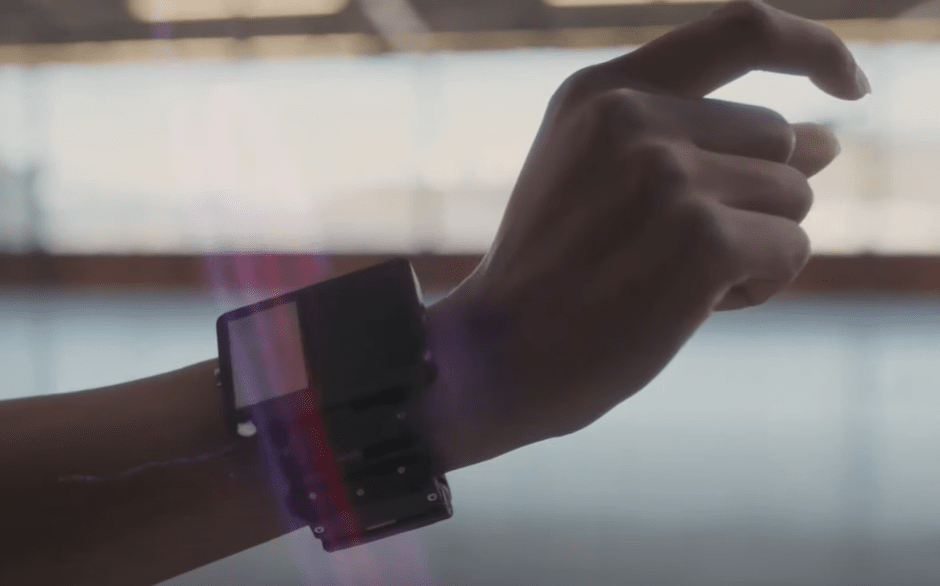 working and uses of Facebook AR Wristband by techohealth.com