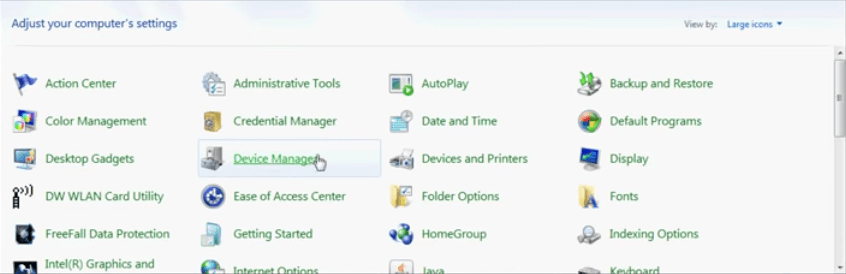 how to manually download and install drivers