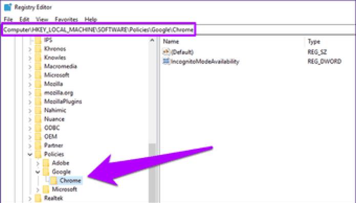 Disable Chrome Incognito Mode 2