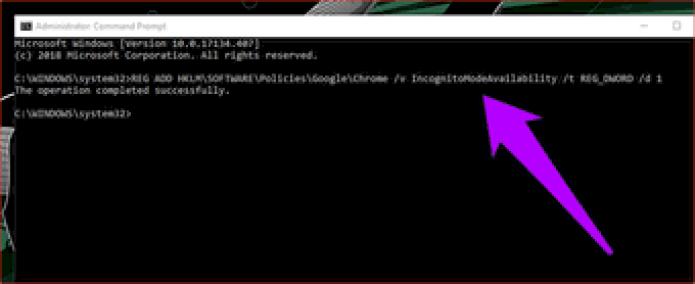 Disable Chrome Incognito Mode 7