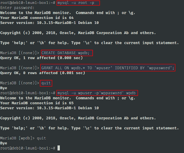 Set Up a MySQL Database on Debian Linux 10