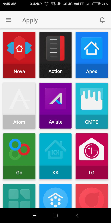 15 Best Nova Launcher Themes Amp Setups Cool Icon Packs 2018