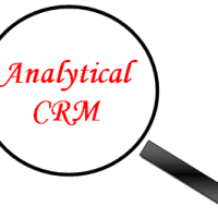 Requirements from an analytical CRM applications