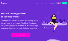 snovio email management
