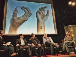 (From left) Jon Brunner, Frank Chen, Kerrie Holley, Dave Icke, Trae Vassallo (photo: Asa Mathat)