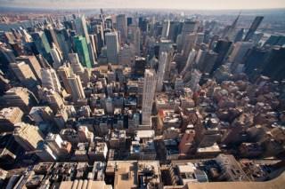 New York cityscape image via Shutterstock
