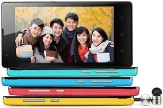 Hongmi's Xiaomi smartphone.